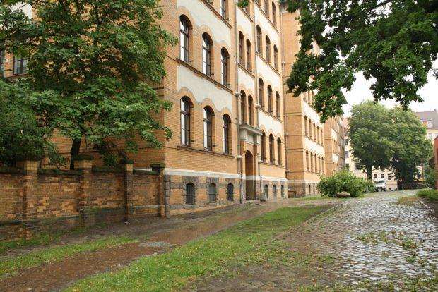 Das Ideal der sächsischen Schule: lehrer- und schülerfrei. Foto: Ralf Julke