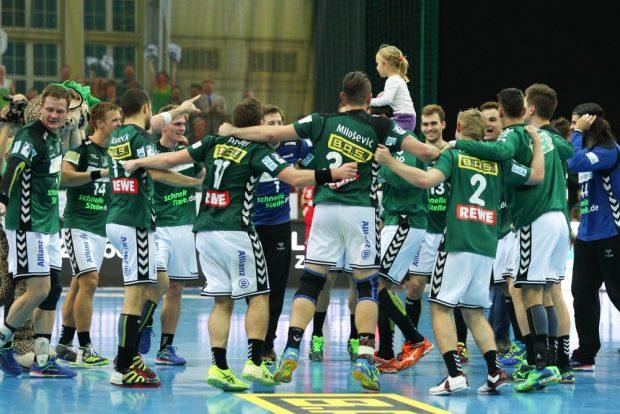 Platz 5 nach acht Spieltagen in der stärksten Liga der Welt - die DHfK-Handballer dürfen mit sich zufrieden sein. Foto: Jan Kaefer