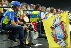 Den mitgereisten Fans bot der HCL in Ungarn ein aufopferungsvolles Spiel. Foto: Jan Kaefer (Archiv)