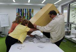 Für den Ausbau des Feldweges votierten 66,9 % der Wähler. Foto: Stadt Markranstädt