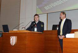 In einem festlichen Rahmen dankten Bernd Merbitz und Burkhard Jung den Anwesenden. Foto: PD Leipzig