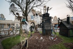 Zum Abschluss der Saison verwandelt sich BELANTIS in eine geheimnisvolle Halloween-Landschaft. Foto: BELANTIS
