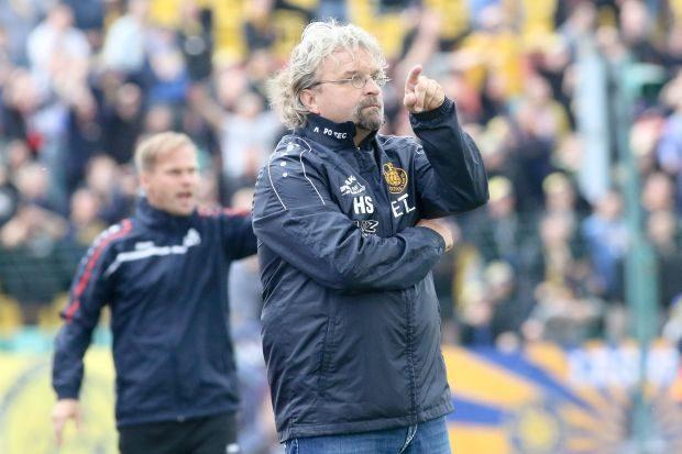 Heiko Scholz und René Rydlewicz kennen sich aus gemeinsamen Leverkusener Zeiten.Rechte:Bernd Scharfe