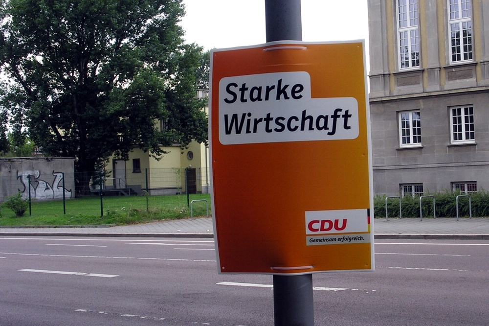 Einder der CDU-Slogans 2013 in Leipzig. Am 22. Oktober 2016 wird nun neu nominiert. Foto: L-IZ.de