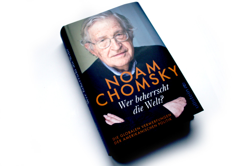 Noam Chomsky: Wer beherrscht die Welt? Foto: Ralf Julke
