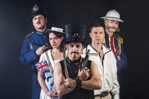 Die Piraten. Foto: Kirsten Nijhof