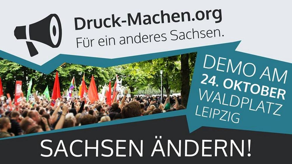 Einladung zur Demo am 24. Oktober. Screenshot: L-IZ