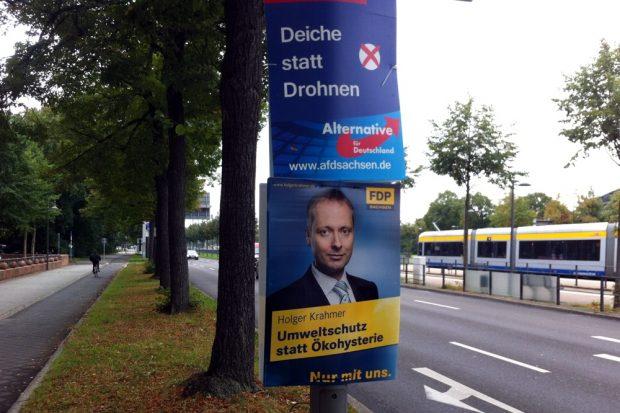 Für AfD und FDP reichte es 2013 nicht. Nun nehmen beide neuen Anlauf auf 2017. Foto: L-IZ.de