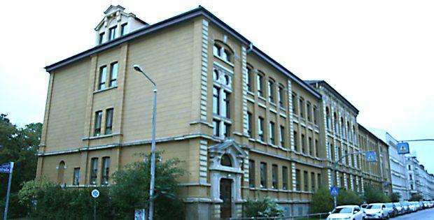 Geschwister-Scholl-Schule in der Elsbethstraße. Foto: Ralf Julke