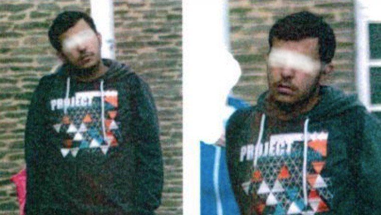 Das Fahndungsbild vom verstorbenen Jaber Al-Bakr. Fotos: Polizei Sachsen