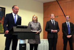 Kandidatenbefragung bei der CDU. Jens Lehmann, Bettina Kudla, Michael Weickert und Godehard Kamps mussten sich den Fragen der CDU-Mitglieder stellen. Foto: L-IZ.de