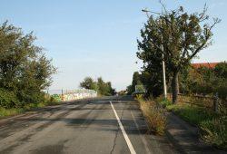 Die gesperrte Landsberger Brücke - von Norden gesehen. Foto: Ralf Julke