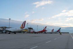 Flughafen Leipzig/Halle. Foto: Uwe Schoßig