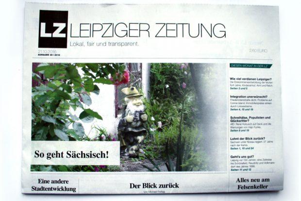 Titelbild der Leipziger Zeitung Nr. 36. Foto: L-IZ