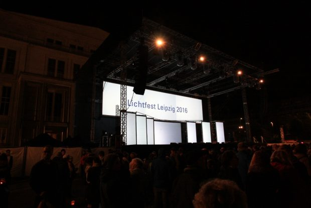 Eine Bühne ist eine Bühne und soll auch Eindruck machen. Foto: L-IZ.de