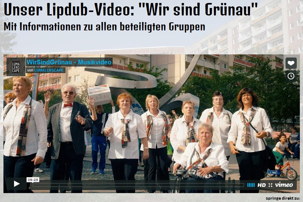 Der Lipdub-Filmclip für Grünau. Screenshot: L-IZ