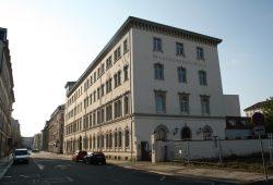 Das Mendelssohn-Haus in der Goldschmidtstraße. Foto: Ralf Julke