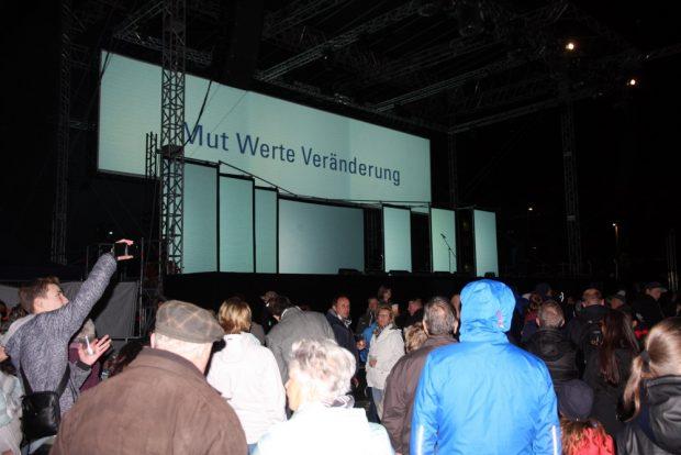 Mut, Wert, Veränderung. In Leipzig nicht ganz unbekannt. Foto: L-IZ.de