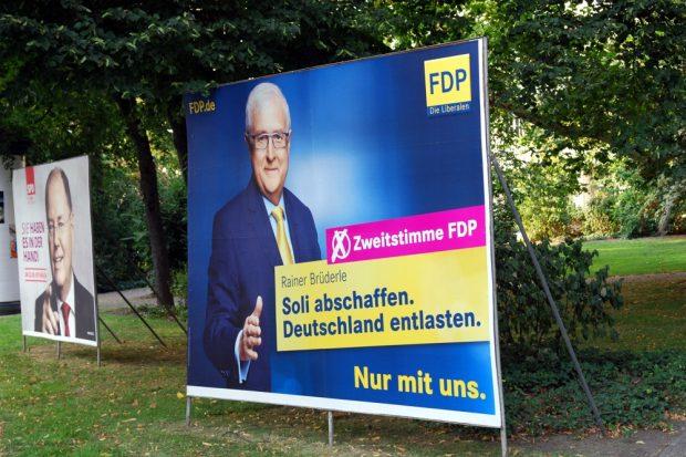 2013 trat die FDP noch mit Rainer Brüderle an und flog aus dem Bundestag. Foto: L-IZ.de