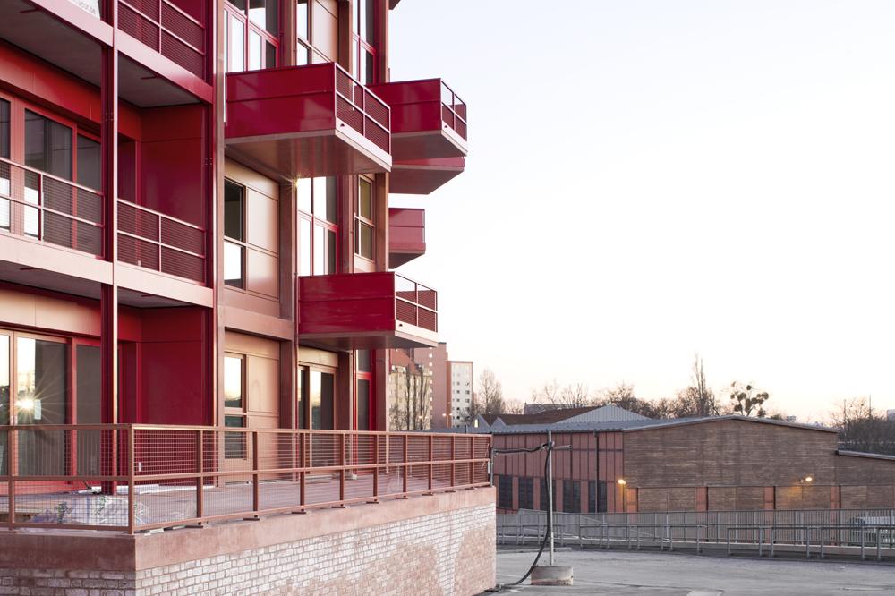 Foto: ROBERTNEUN Architekten, Wohnungsbau Am Lokdepot/PhotoWerner Huthmacher