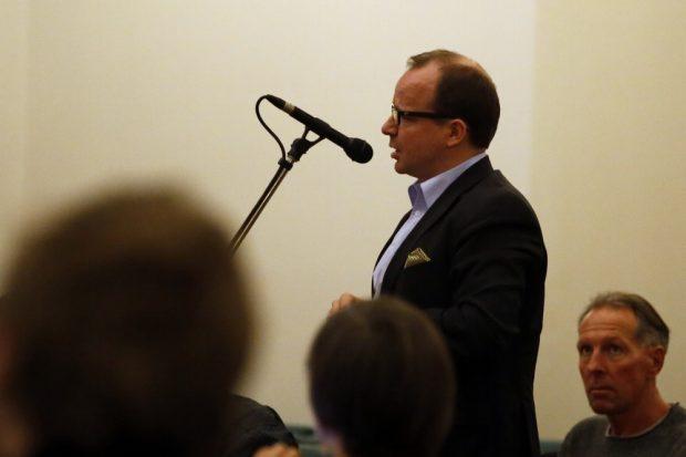 FDP-Stadtrat René Hobusch (im Stadtrat) zur kommenden Bundestagswahl im Interview. Foto: Alexander Böhm