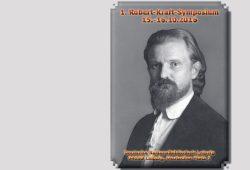 Einladung zum 1. Robert-Kraft-Symposium. Grafik: Freundeskreis SF Leipzig e.V.