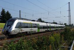 S-Bahn auf Fahrt in Richtung Geithain. Foto: Marko Hofmann