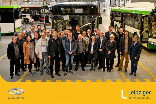 Besuch des AR der Leipziger Verkehrsbetriebe in Poznan. Foto: LVB