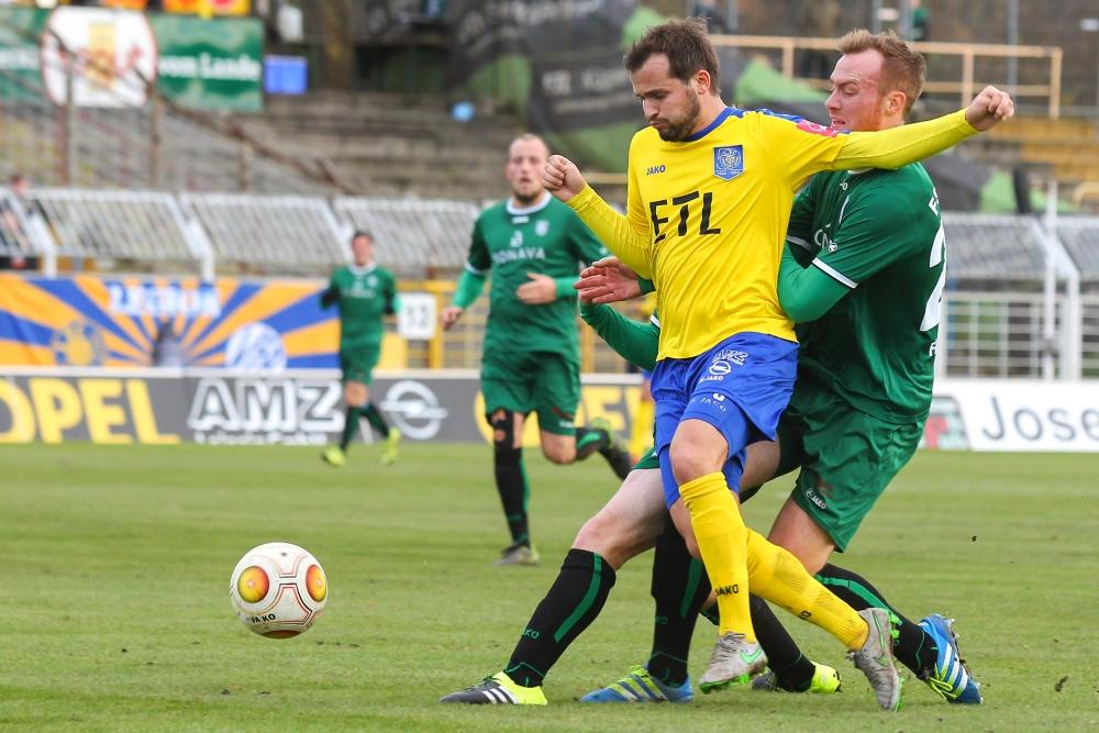 Matchwinner Daniel Becker traf beim 3:1-Sieg über Fürstenwalde doppelt. Foto: Jan Kaefer