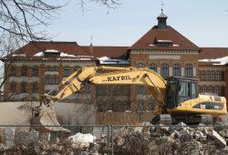 Baustelle altes Schulsystem. Foto: Ralf Julke