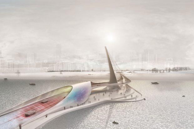 """Carbonbeton hat das Potenzial, das Bauen zu revolutionieren. Dabei ergeben sich völlig neue architektonische Möglichkeiten. Foto: """"ai:L Architektur-Institut Leipzig der HTWK Leipzig"""""""