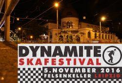 "Das ""Dynamite Skafestival"", am 5. November im Felsenkeller. Foto-Montage: L-IZ.de"