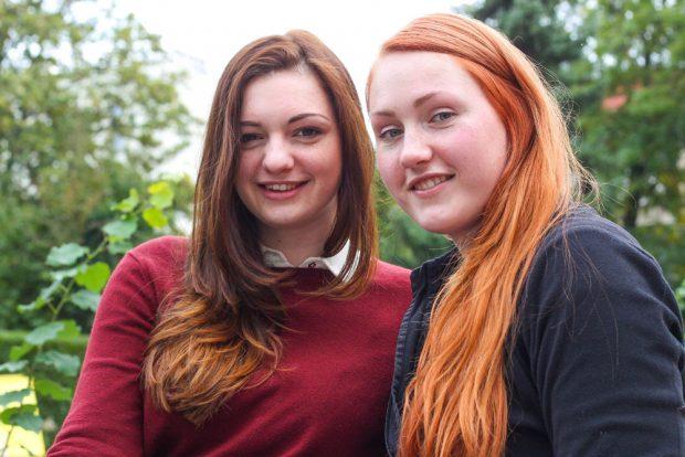 Die Schwestern Sarah und Britta Naujocks sind beide im Hawks Vorstand aktiv. Foto: Jan Kaefer