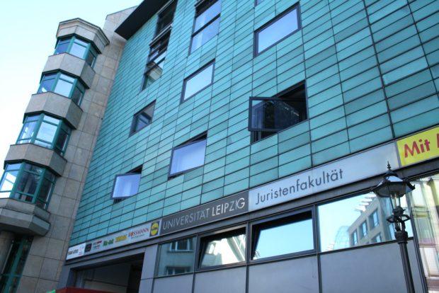 Juristenfakultät an der Burgstraße. Foto: Ralf Julke