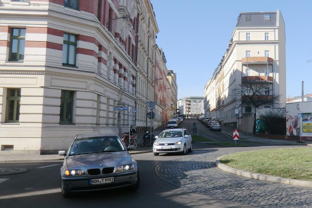Blick in die Industriestraße in Plagwitz. Foto: Marko Hofmann