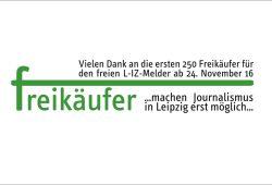 """Am 24. November 2016: Der erste Schritt ist gemacht, der """"Melder"""" ist wieder """"freigekauft"""". Bild: L-IZ.de"""
