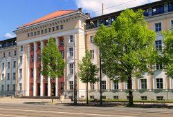 Der 23. Kleinverlegertag findet im Lipsius-Bau der HTWK Leipzig statt. Foto: Swen Reichhold/HTWK Leipzig