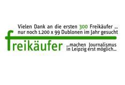 Die Freikäufer-Aktion der L-IZ.de läuft