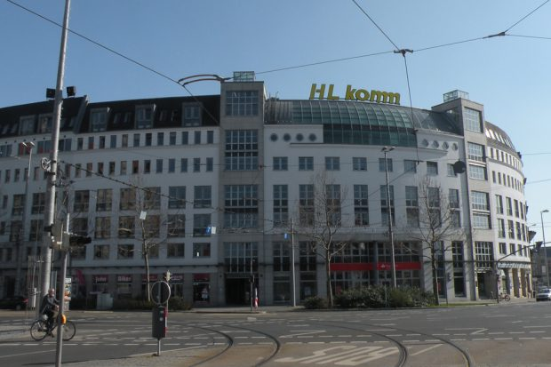 Das Gebäude Martin-Luther-Ring 3. Foto: Marko Hofmann