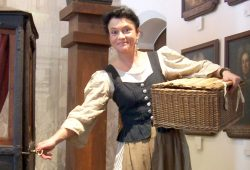 Marktfrau Marlene. Foto: Stadtgeschichtliches Museum