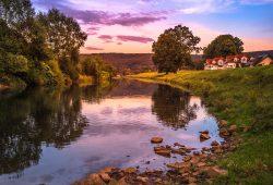Zwickauer Mulde bei Waldenburg. Foto: Katja Eidam