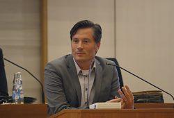 Ordnungsbürgermeister Heiko Rosenthal im Stadtrat. Foto: Alexander Böhm