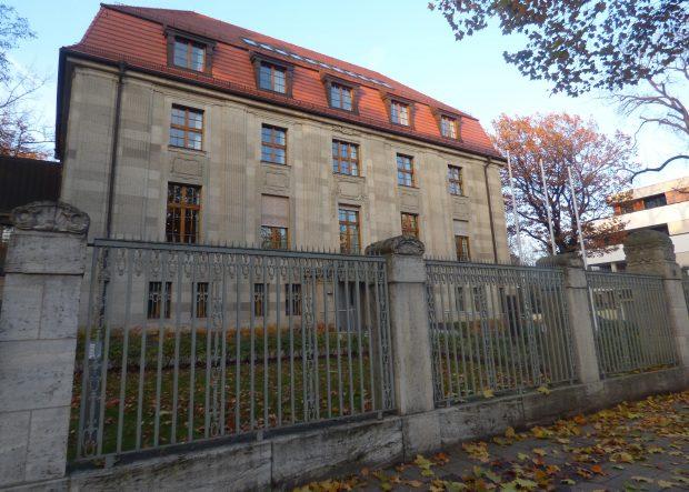 Das Gebäude des 5. Strafsenats des BGH in der Karl-Heine Straße. Foto: Lucas Böhme