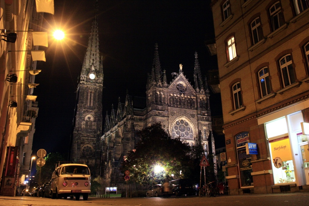 Die Peterskirche in der Südvorstadt (a. d. Riemannstraße). Wirkungsstätte von Pfarrer Andreas Dohrn. Foto: L-IZ.de