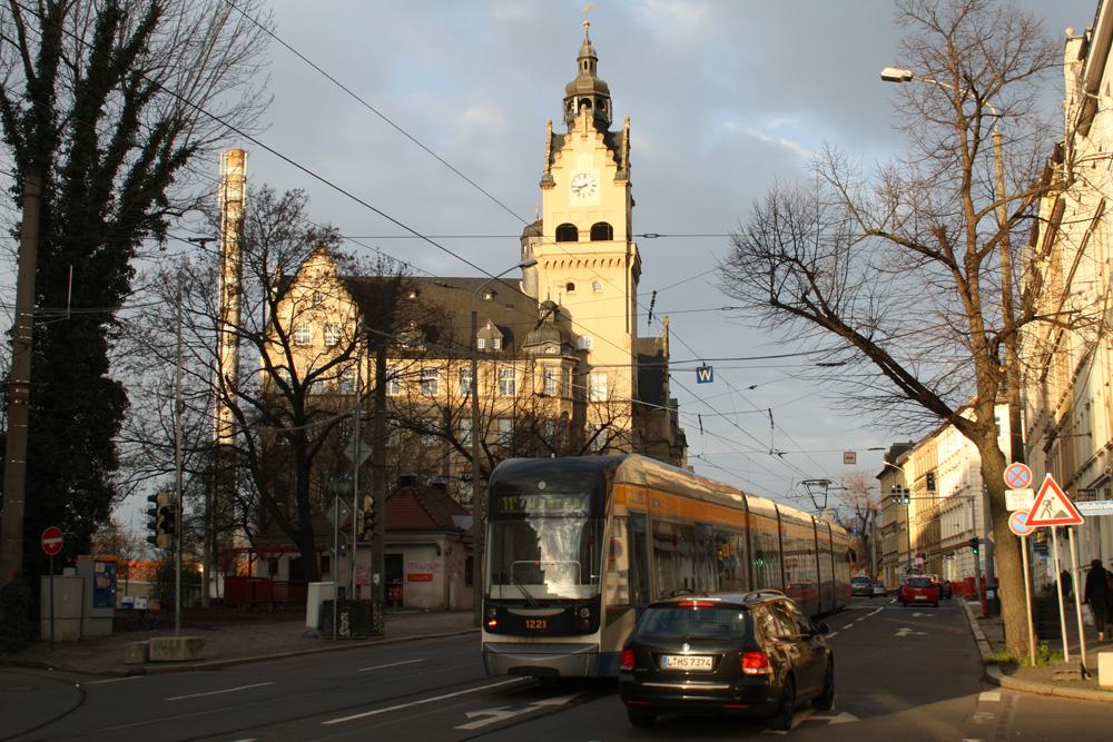 Einstiger Bürgerstolz: Rathaus in Wahren. Foto: Ralf Julke