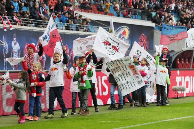 RBL hat seinen zweiten Tabellenplatz gefestigt – die Fans freut's. Foto: GEPA pictures/Roger Petzsche