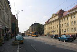 Freie Fahrt zwischen S-Bahn-Brücke und Huygensstraße. Foto: Stadt Leipzig