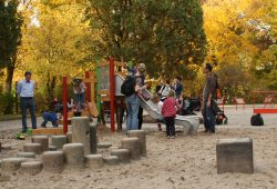 Spielplatz im Clara-Zetkin-Park. Foto: Ralf Julke