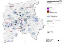 Die Karte zum neuen STEP-Zentren-Entwurf. Karte: Stadt Leipzig