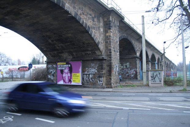 Der Bahnviadukt an der Wurzner Straße. Foto: Ralf Julke